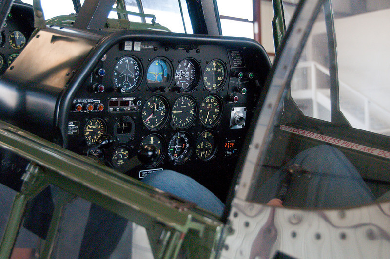 "Beautiful panel, beauitful airplane.  The Collins Foundation has kept ""Betty Jane"" in pristrine condition, expecially considering she is nearly 60 years old!"