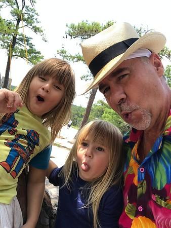 Grandgirls! Stone Mountain Hike!  8.7.20
