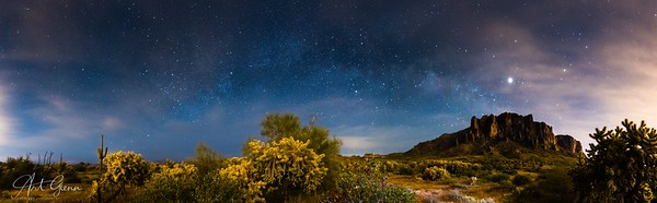 Superstition Mountains Astrophotography