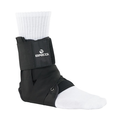 Lace Up Ankle Brace with Tibia Strap