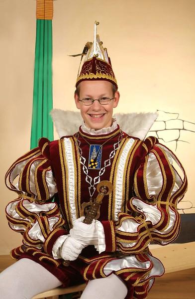 Jeugdprins Bart den Eerste (Gysbers)