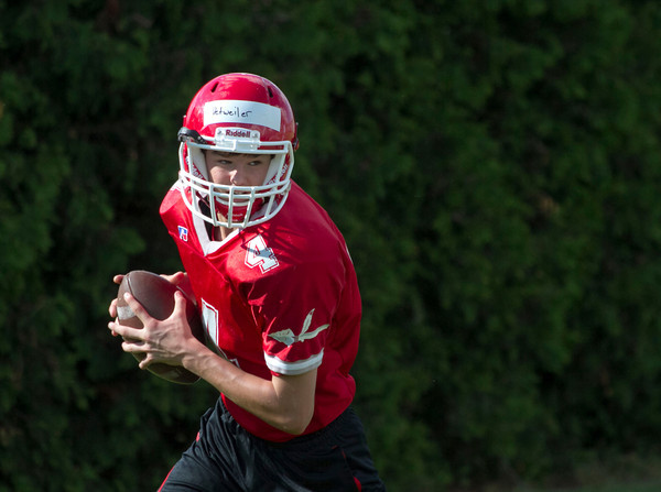 Goshen High School Football Practice
