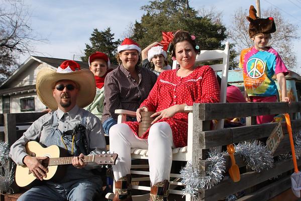 Main Street Duncan Christmas Parade, Dec. 1, 2012
