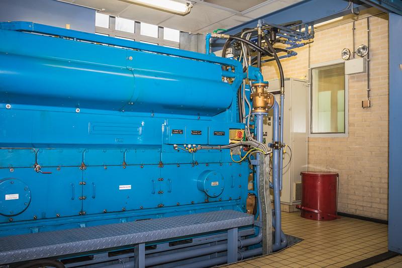 dieselmotor Boezemgemaal spaardam