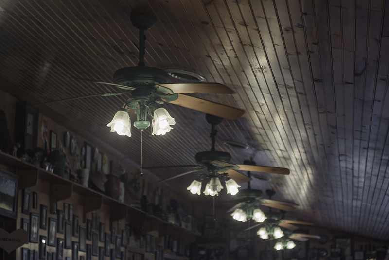 Ceiling Fans, All the Way Down
