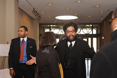 25876 Dean Joyce McConnell and Dr. Cornel West