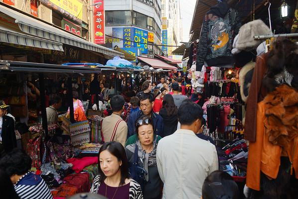 Namdaemun & Myeongdong Markets