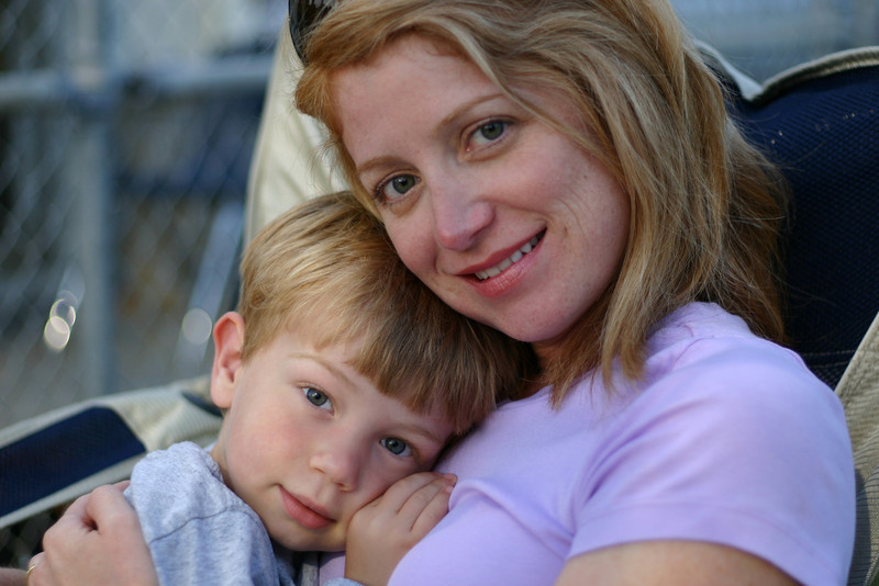 Gabe & Mommy.