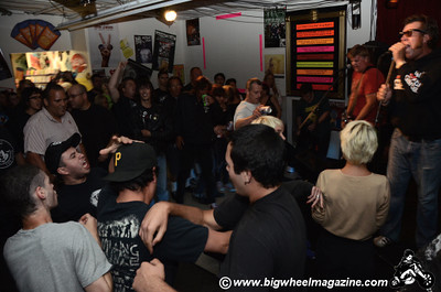 The Crowd - at Rhino Records Pop Up Store - Los Angeles, CA - June 5, 2011