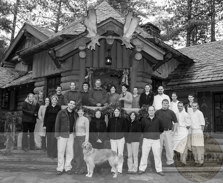 The staff at The Point Resort