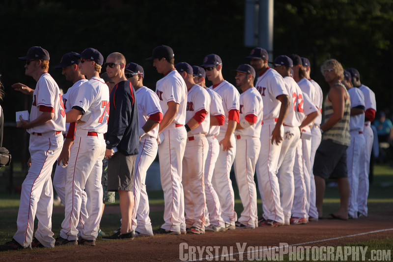 Toronto Maple Leafs at Brantford Red Sox July 24, 2012