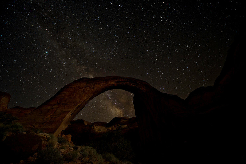Malcolm Rainbow Bridge Milky Way