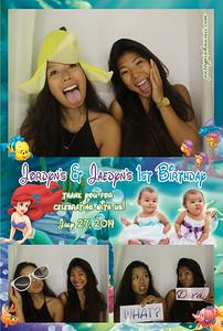 Jordyn & Jaelyn 1st Birthday (Luxury Photo Booth)