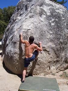 Climbing in Idyllwild, CA