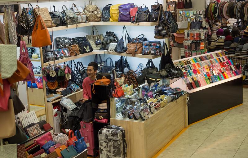 Bag stand at Migliore, Dongdaemun