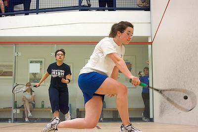 2010-02-28 Ashley Stevens (Wellesley) and Kristine So (Notre Dame)