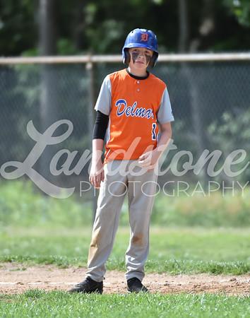 Delmar Middle Baseball vs Dover