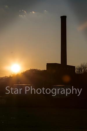 Sunset At Bemberg 01-30-15