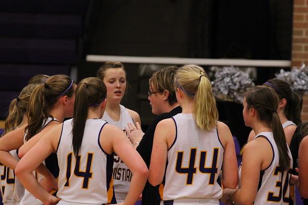 Basketball Girls vs. Constantine - 2/20/15 - KCHS