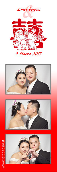 Matrimonio con photobooth.it e Fotocabina.it - Ximei & Bowen - 9 Marzo 2017