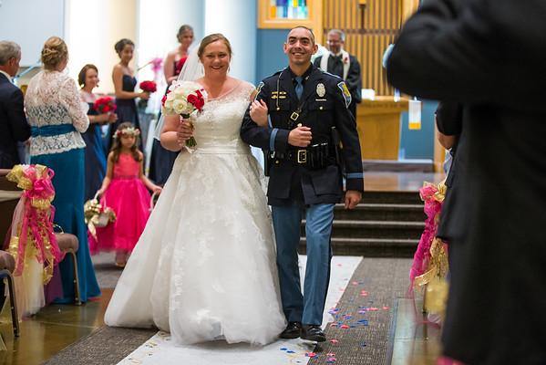 Lindsey and David Wedding