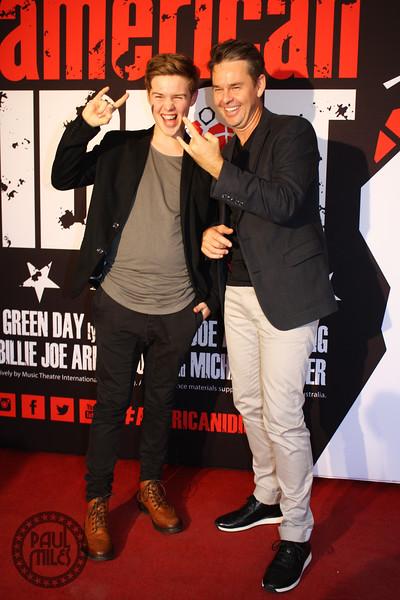 Todd Woodbridge and son Beau Woodbridge