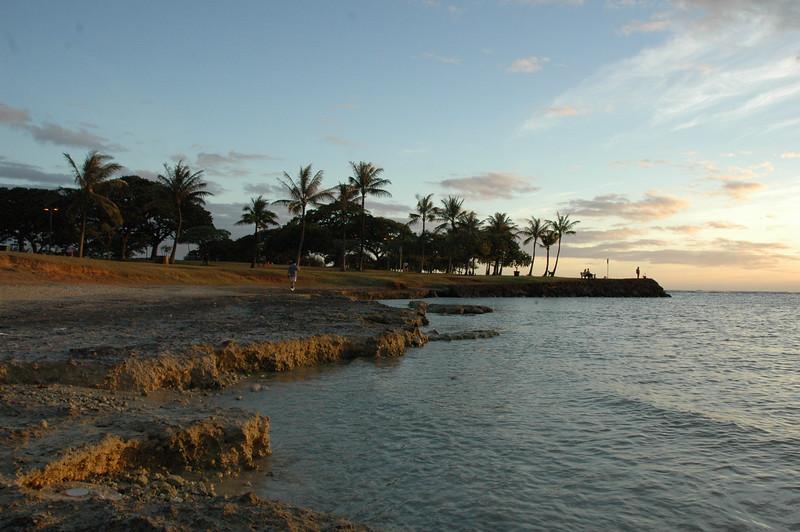 Hawaii - Ala Moana Beach Sunset-32.JPG