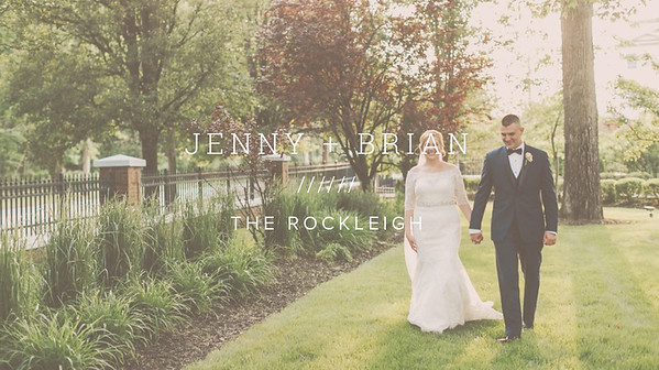 JENNY + BRIAN ////// THE ROCKLEIGH