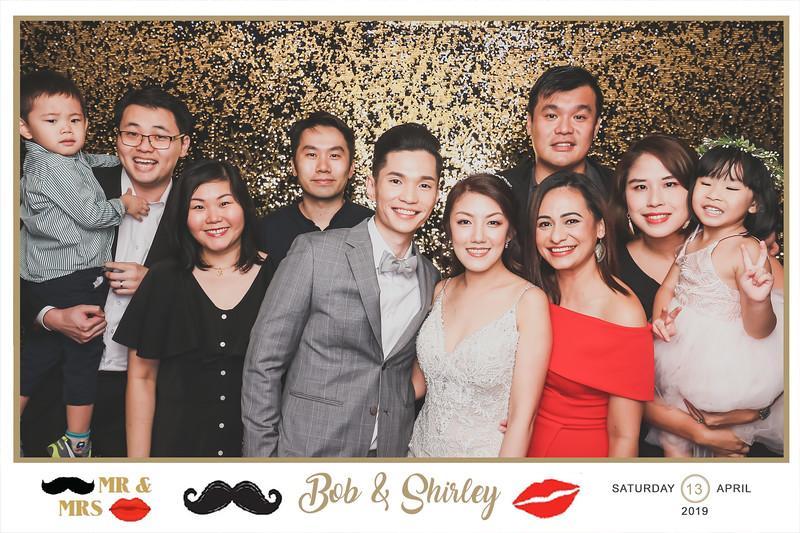 Wedding of Bob & Shirley   © SRSLYPhotobooth.sg