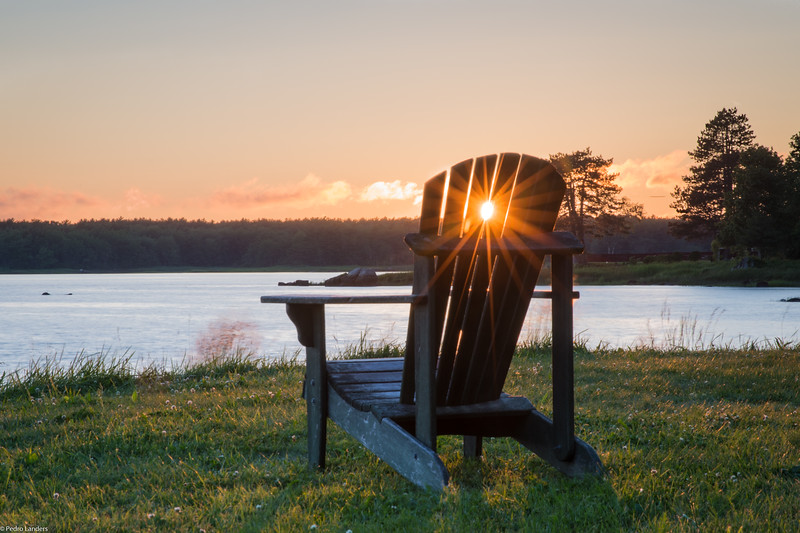 The Chair at Sunset
