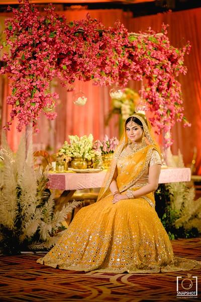 Simran & Anaf Bride Holud