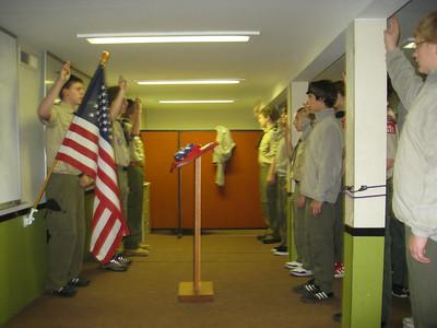 Troop Meeting - Nov 01