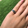 1.15ctw Emerald Cut Diamond Trilogy Ring 12