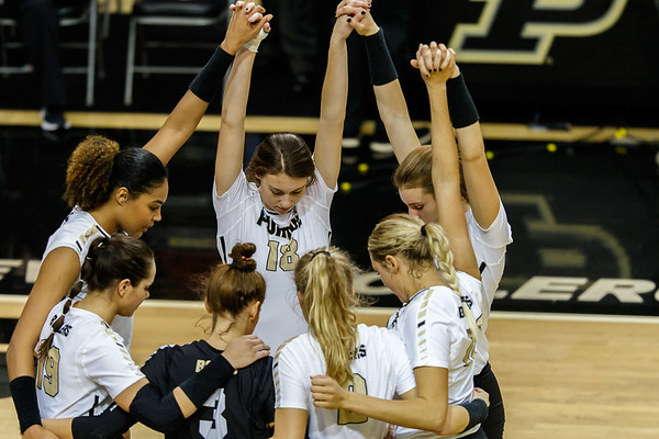 Purdue Volleyball vs Michigan State 2018-10-31