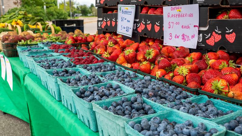 ONroute farmers market