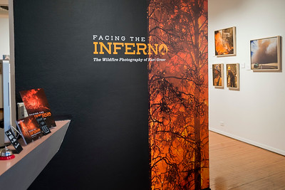 "Prichard Art Gallery ""Facing the Inferno"" (ID, 2018)"