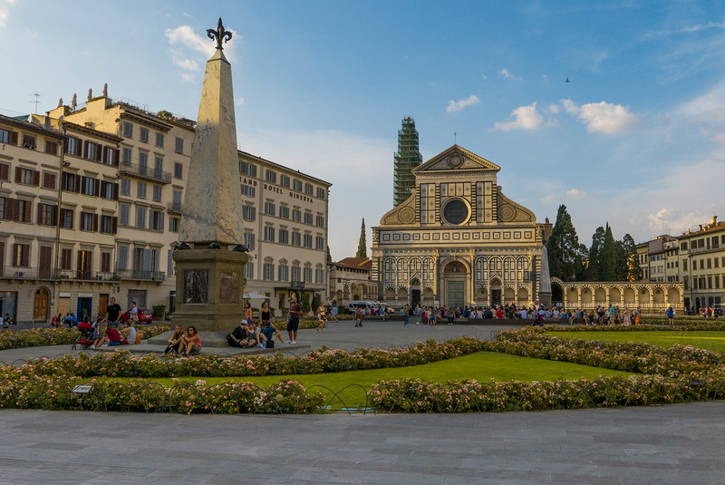 View of Piazza di Santa Maria Novella