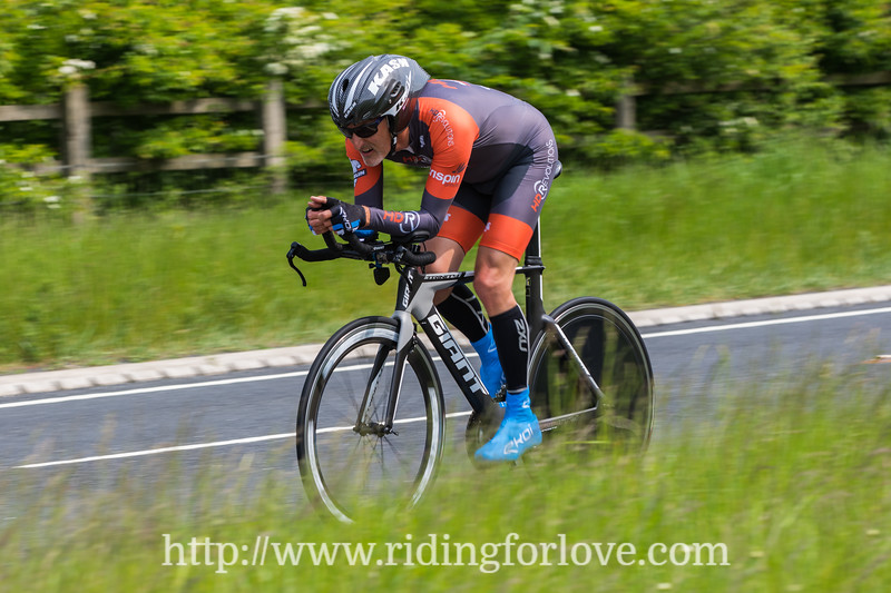 Holme Valley Wheelers 25 mile TT YCF points 26th May 2018