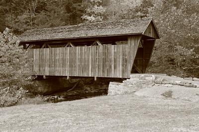 Indian Creek Covered Bridge near Union, WV. © 2020 Kenneth R. Sheide