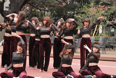 "Aoyama University ""Club Day"" April 4, 2018"