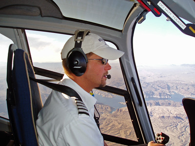 Kirk as our Pilot...Las Vegas to Grand Canyon