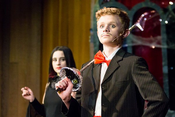 Parks Theatre - Addams Family Jr - Thing Cast