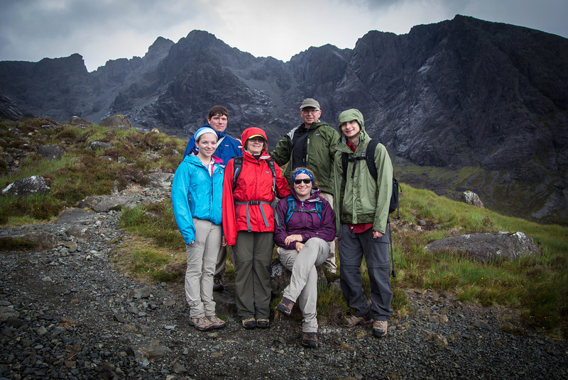 The Robertson's conquered the Black Cuillins!!!