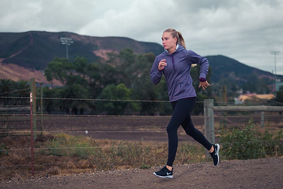 Hannah and Brittney Running