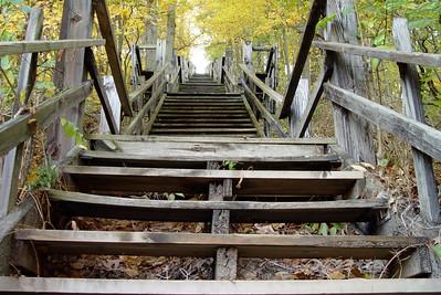 Mt. Baldhead Stairs