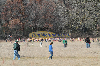 Men at 2500m mark - 2013 NCAA Division I Great Lakes Region Cross Country Championships