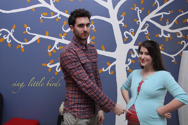 Paul and Jordan Maternity Shoot