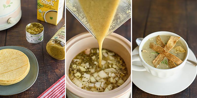 Green Chile Enchilada Soup CrockPot