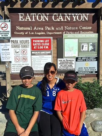 Nancy's Bday Hike - Eaton Canyon 2014