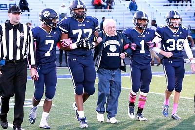 Football - CFalls @ Twinsburg Senior NIght